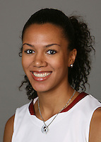 STANFORD, CA - SEPTEMBER 28:  Rosalyn Gold-Onwude of the Stanford Cardinal women's basketball team poses for a headshot on September 28, 2009 in Stanford, California.