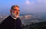 Israel, Abouna Emile Shoufani in Nazareth