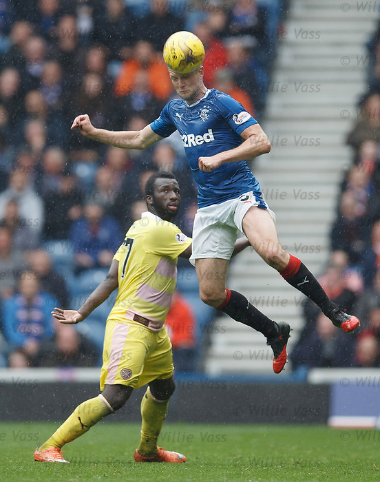 Clint Hill and Ismael Goncalves