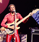 Brothers Johnson 1980 Louis Johnson on Midnight Special<br /> &copy; Chris Walter