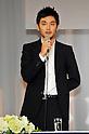 "Ryuhei Matsuda, Nov 29, 2011 : November : Tokyo, Japan, Japanese actor Ryuhei Matsuda appears at a press conference for the film ""Kita no Kanaria tachi"" in the Tokyo."