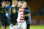 St Johnstone v Hamilton Accies...10.05.11.Alex Neil leaves the pitch at full time.Picture by Graeme Hart..Copyright Perthshire Picture Agency.Tel: 01738 623350  Mobile: 07990 594431