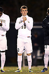 12 November 2013: Wake Forest's Teddy Mullin. The Wake Forest University Demon Deacons hosted the University of Virginia Cavaliers at Spry Stadium in Winston-Salem, North Carolina in a 2013 NCAA Division I Men's Soccer match and the quarterfinals of the Atlantic Coast Conference tournament. Virginia won the game 1-0 in overtime.