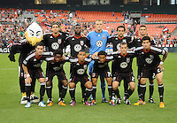 D.C. United starting elven. D.C. United defeated The Vancouver Whitecaps FC 4-0 at RFK Stadium, Saturday August 13 , 2011.