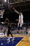 UK forward Willie Cauley-Stein shoots a basket at UK vs. Missouri at Rupp Arena in Lexington, Ky. on Saturday, February 23, 2013. Photo by Emily Wuetcher | Staff... .