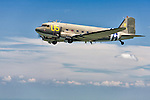 Betsy's Biscuit Bomber, AF 43-48608 is a C-47B owned and operated by the Estrella Warbird Museum in Paso Robles, CA. Prior to calling the Museum her home in 2007, she served with USAAF, French Air Force, Belgian Air Force, and Israeli Air Force. From 2007 until the summer of 2009, C-47B, FAA registration N47SJ, underwent an extensive restoration to restore her to 1947 standards. She took flight once more on August 1st 2009.
