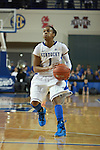 UK guard A'dia Mathies dribbles the ball during the first half of the UK vs. Tennessee at Memorial Coliseum in Lexington, Ky., on Sunday, March 3, 2013. Photo by Emily Wuetcher | Staff....