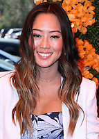 PACIFIC PALISADES, CA, USA - OCTOBER 11: Aimee Song arrives at the 5th Annual Veuve Clicquot Polo Classic held at Will Rogers State Historic Park on October 11, 2014 in Pacific Palisades, California, United States. (Photo by Xavier Collin/Celebrity Monitor)