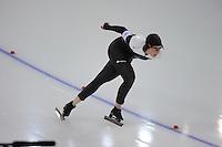 OLYMPICS: SOCHI: Adler Arena, 19-02-2014, Ladies' 5000m, Ivanie Blondin (CAN), ©photo Martin de Jong