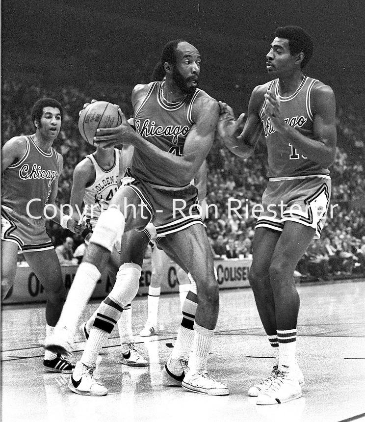 Chicago Bulls Nate Thurmond (1975 photo/Ron Riesterer)