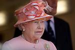 Cowes visit by HRH Queen Eizabeth II