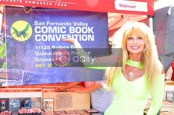 Laurene Landon<br /> at the San Fernando Valley Comic Book Convention, Granada Pavilion, Granada Hills, CA 08-14-16<br /> David Edwards/DailyCeleb.com 818-249-4998