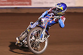 Daniel Davidsson of Lakeside Hammers - Lakeside Hammers vs Wolverhampton Wolves, Elite Shield Speedway at the Arena Essex Raceway, Purfleet - 26/03/10 - MANDATORY CREDIT: Rob Newell/TGSPHOTO - Self billing applies where appropriate - 0845 094 6026 - contact@tgsphoto.co.uk - NO UNPAID USE.