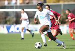 09 November 2008: North Carolina's Nikki Washington. The University of North Carolina Tarheels defeated the Virginia Tech University Hokies 3-0 at WakeMed Stadium at WakeMed Soccer Park in Cary, NC in the women's ACC tournament championship game.