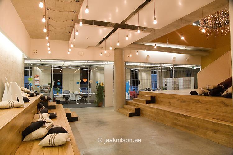 rest area in modern skype office tallinn estonia jaak