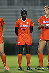 27 October 2016: Clemson's Catrina Atanda. The Duke University Blue Devils hosted the Clemson University Tigers at Koskinen Stadium in Durham, North Carolina in a 2016 NCAA Division I Women's Soccer match. Clemson won the game 1-0.