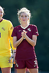 15 October 2016: Florida State's Megan Connolly. The North Carolina State University Wolfpack hosted the Florida State University Seminoles at Dail Soccer Field in Raleigh, North Carolina in a 2016 NCAA Division I Women's Soccer match. FSU won the game 1-0.