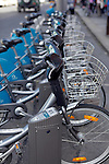 Europe, Ireland, Dublin. Public Bicycles in Dublin.