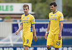 Inverness Caley Thistle v St Johnstone&hellip;27.08.16..  Tulloch Stadium  SPFL<br />Steven MacLean and Graham Cummins<br />Picture by Graeme Hart.<br />Copyright Perthshire Picture Agency<br />Tel: 01738 623350  Mobile: 07990 594431
