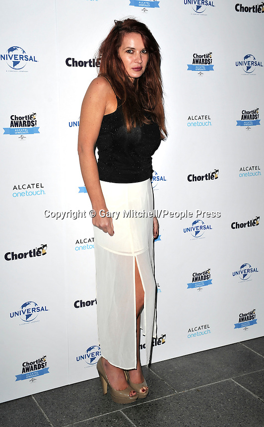 Kierston Wareing  attends the Chortle Awards at Ministry Of Sound on March 26, 2014 in London, England.