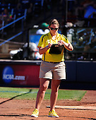 The University of Michigan softball team was eliminated from the Women's College World Series with a 4-1 loss to Washington at ASA Hall of Fame Stadium in Oklahoma City, Okla., on June 2, 2013.