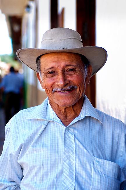 Colombia, Barichara, Santander Province, Barichara Resident
