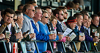 LEXINGTON, KENTUCKY - APR 07: Fans watch an undercard race on opening day at Keeneland Race Course on April 7, 2017 in Lexington, Kentucky. (Photo by Scott Serio/Eclipse Sportswire/Getty Images)