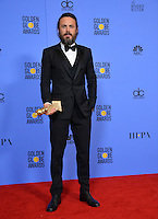 Casey Affleck at the 74th Golden Globe Awards  at The Beverly Hilton Hotel, Los Angeles USA 8th January  2017<br /> Picture: Paul Smith/Featureflash/SilverHub 0208 004 5359 sales@silverhubmedia.com