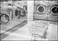 Washing Machines, Laundrette, Paris, France, 2010
