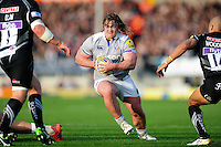 Nick Auterac of Bath Rugby in possession. Aviva Premiership match, between Exeter Chiefs and Bath Rugby on October 30, 2016 at Sandy Park in Exeter, England. Photo by: Patrick Khachfe / Onside Images