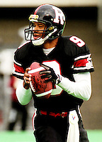Damon Allen Ottawa Rough Riders. Copyright photograph Scott Grant
