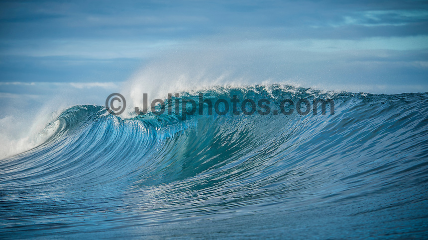 Namotu Island Resort, Fiji. Friday March 27 2015) - The surf was in the 4'-6' range this morning with  clear skies and light SE Trade winds. The  guests had sessions at Namotu Lefts, and Cloudbreak. Today's surf is the best it's been all week with the inside section of Cloudbreak barrelling.Photo: joliphotos.com