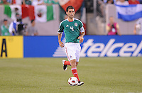 Mexico Rafael Marquez (4) heads the ball.  Mexico defeated Guatemala 2-1 in the quaterfinals for the 2011 CONCACAF Gold Cup , at the New Meadowlands Stadium, Saturday June 18, 2011.