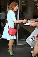 AUG 20 Elisabeth Moss at SiriusXM Studios