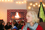 Guests gather at 359 State Street for First Friday festivities Dec. 7.