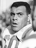 Angelo Mosca Ottawa Rough Riders 1960. Copyright photograph Ted Grant