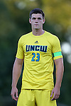 15 September 2015: UNCW's Colin Bonner. The Duke University Blue Devils hosted the University of North Carolina Wilmington Seahawks at Koskinen Stadium in Durham, NC in a 2015 NCAA Division I Men's Soccer match. UNCW won the game 3-0.