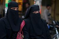 Muslim Girls  in Old Delhi India