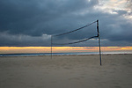 Grove Beach Point Terrace volleyball net on beach
