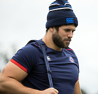Guy Mercer of Bath Rugby looks on during a Bath Rugby photoshoot on June 21, 2016 at Farleigh House in Bath, England. Photo by: Rogan Thomson for Onside Images