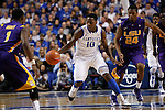 UK guard Archie Goodwin attempts to go down the court during the second half of the men's basketball game vs. LSU at Rupp Arena, in Lexington, Ky., on Saturday, January 26, 2013. Photo by Genevieve Adams  | Staff.
