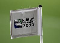 Rugby World Cup Auckland England v Scotland  Pool B 01/10/2011.Corner Flag at Eden Park.Photo  Frey Fotosports International/AMN Images