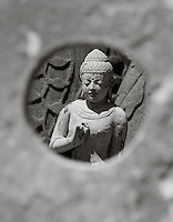 magnificent statue of a buddha