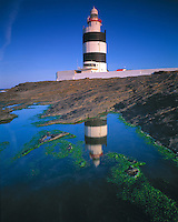 Lighthouse on Hook Penninsula, County Wexford, Ireland