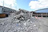 SCHAATSEN: HEERENVEEN: IJsstadion Thialf, 17-04-15, Ver(nieuw)bouw, ©foto Martin de Jong