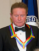 Don Henley of the rock band &quot;The Eagles,&quot; one of the five recipients of the 39th Annual Kennedy Center Honors pose for a group photo following a dinner hosted by United States Secretary of State John F. Kerry in their honor at the U.S. Department of State in Washington, D.C. on Saturday, December 3, 2016.  The 2016 honorees are: Argentine pianist Martha Argerich; rock band the Eagles; screen and stage actor Al Pacino; gospel and blues singer Mavis Staples; and musician James Taylor.<br /> Credit: Ron Sachs / Pool via CNP