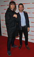 Liam Gallagher and Mat Whitecross at the &quot;Supersonic&quot; London film premiere, Vue West End cinema, Leicester Square, London, England, UK, on Sunday 02 October 2016.<br /> CAP/CAN<br /> &copy;CAN/Capital Pictures /MediaPunch ***NORTH AND SOUTH AMERICAS ONLY***