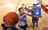 WF Nick Williams (Mobile, AL / LeFlore) gets the rebound during the NBA Top 100 Camp held Friday June 22, 2007 at the John Paul Jones arena in Charlottesville, Va. (Photo/Andrew Shurtleff)