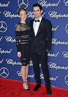 Director Damien Chazelle &amp; actress Olivia Hamilton at the 2017 Palm Springs Film Festival Awards Gala. January 2, 2017<br /> Picture: Paul Smith/Featureflash/SilverHub 0208 004 5359/ 07711 972644 Editors@silverhubmedia.com