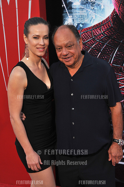"Cheech Marin at the world premiere of ""The Amazing Spider-Man"" at Regency Village Theatre, Westwood..June 29, 2012  Los Angeles, CA.Picture: Paul Smith / Featureflash"